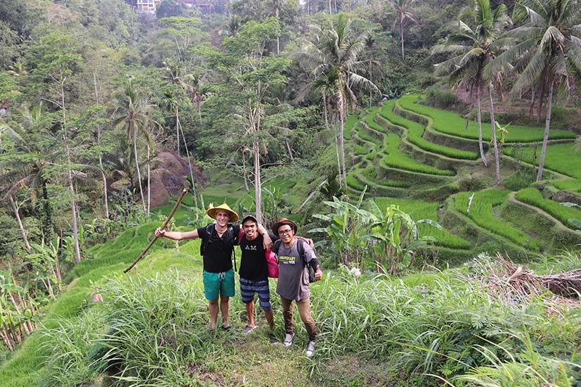 Ubud Jungle trekking